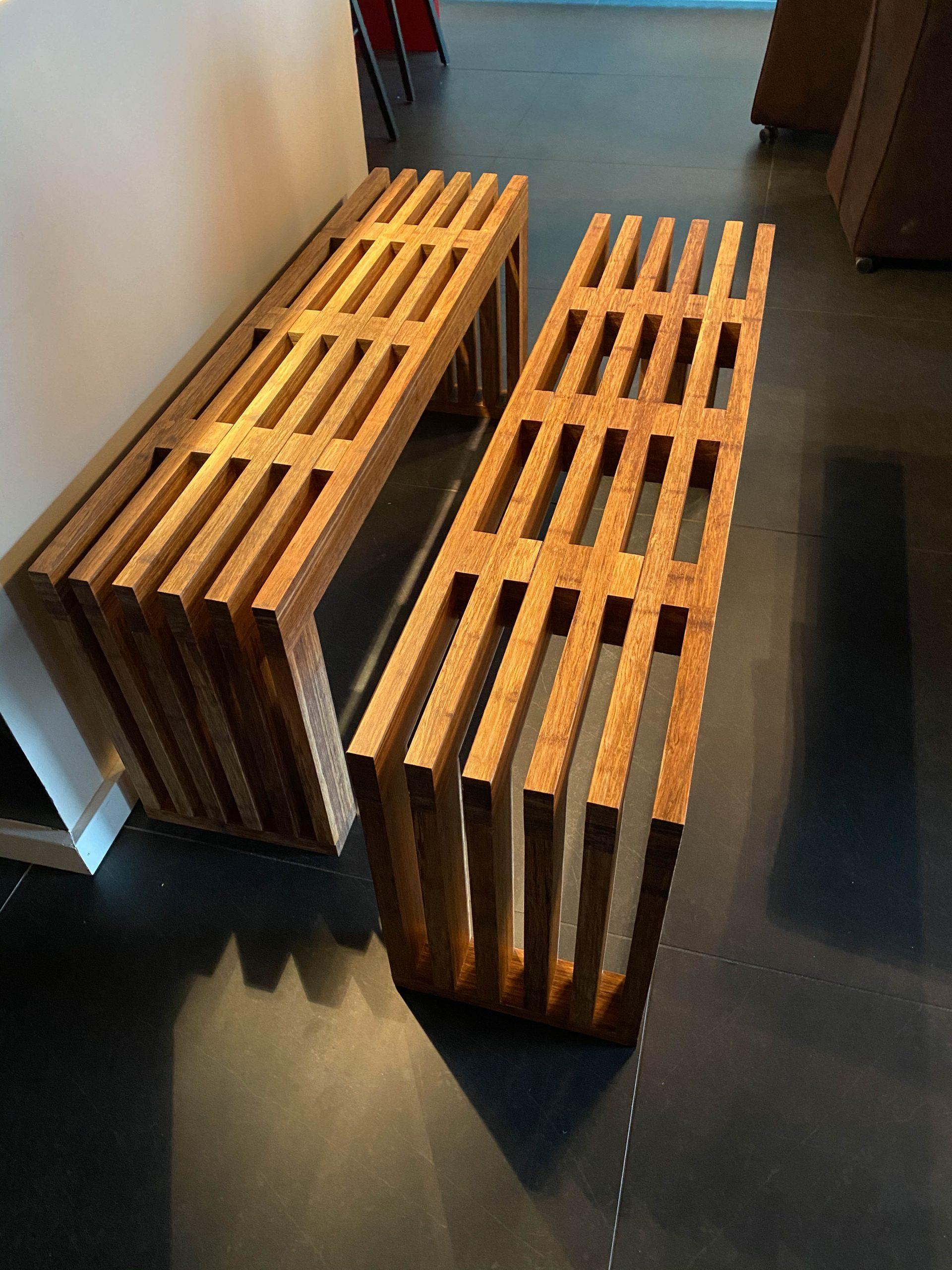 Bamboe Bankje Nieuw Van Oud Maatwerkmeubels Van Gebruikt Hout